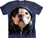 Футболка с 3D эффектом The Mountain DJ Manny the Frenchie