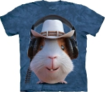 Футболка с 3D эффектом The Mountain Guinea Pig Cowboy