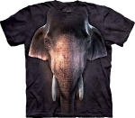 Футболка с 3D эффектом The Mountain Big Face Asian Elephant