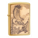 Зажигалка Zippo широкая WHERE EAGLESS DARE