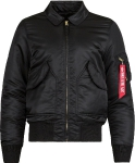 Куртка бомбер Alpha Industries CWU-45P Slim Fitt, black