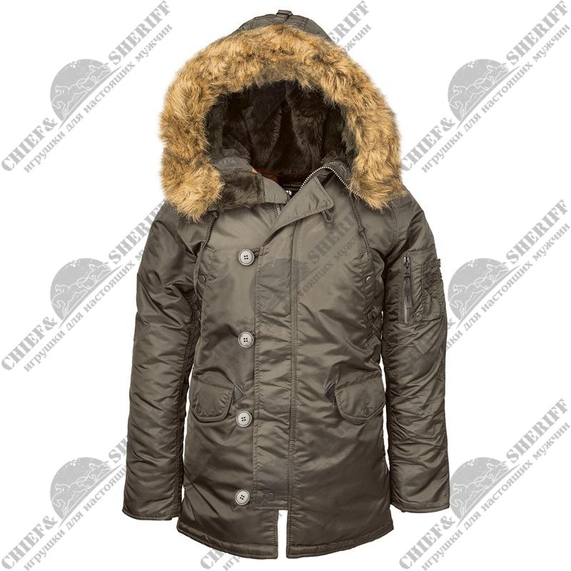 a935db090a6 Куртка аляска женская Alpha Industries N-3B W Parka