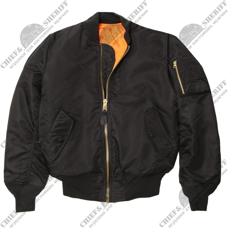 Куртка Alpha Industries MA-1, black