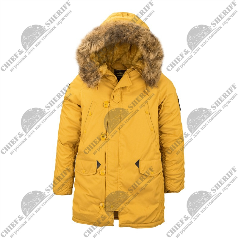 Куртка аляска Alpha Industries Altitude Parka, tumbleweed