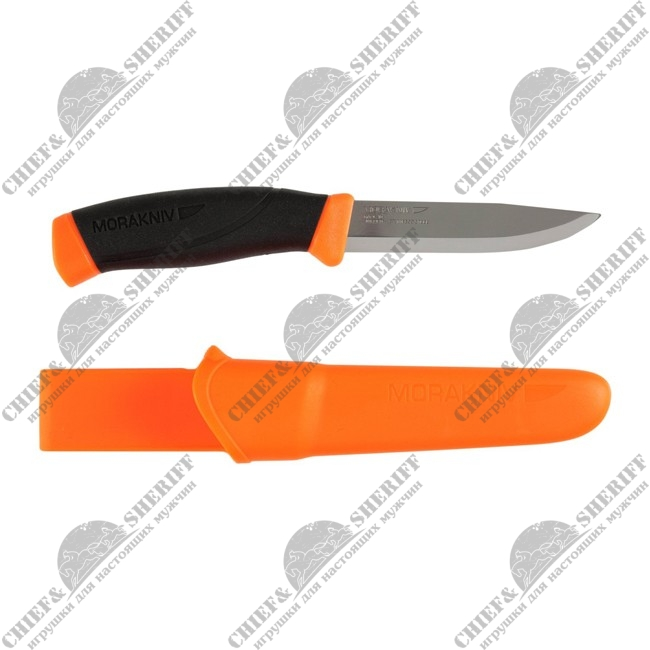 Нож Mora (Morakniv) Companion Orange Outdoor Sports Knife, 11824