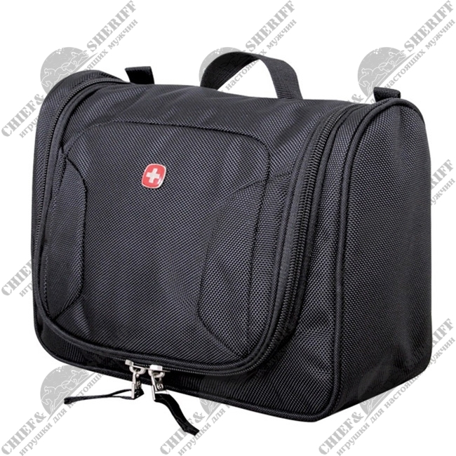 Несессер Wenger Toiletry kit, черный, полиэстер 600D, (27 × 11 × 22 см),1092213