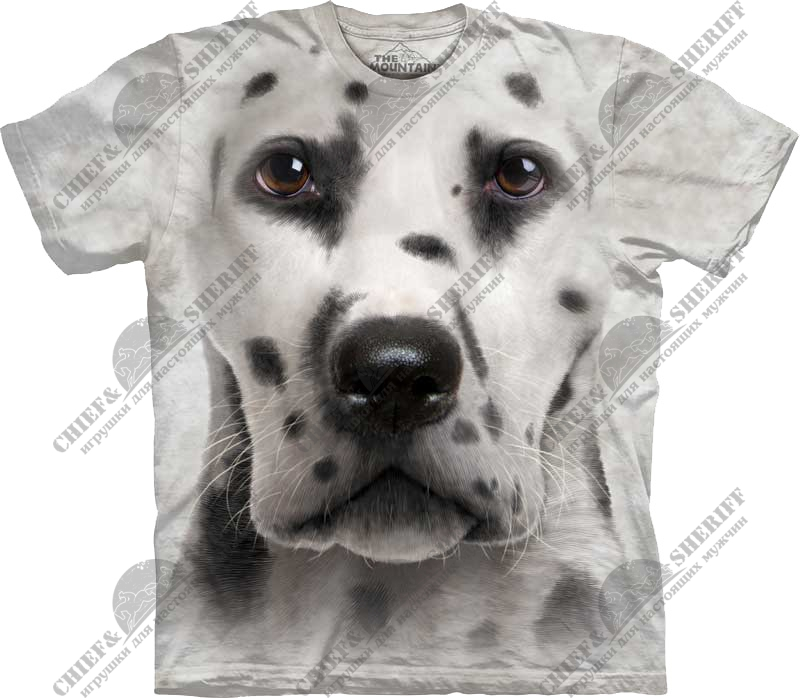 Футболка с 3D эффектом The Mountain Dalmatian Face