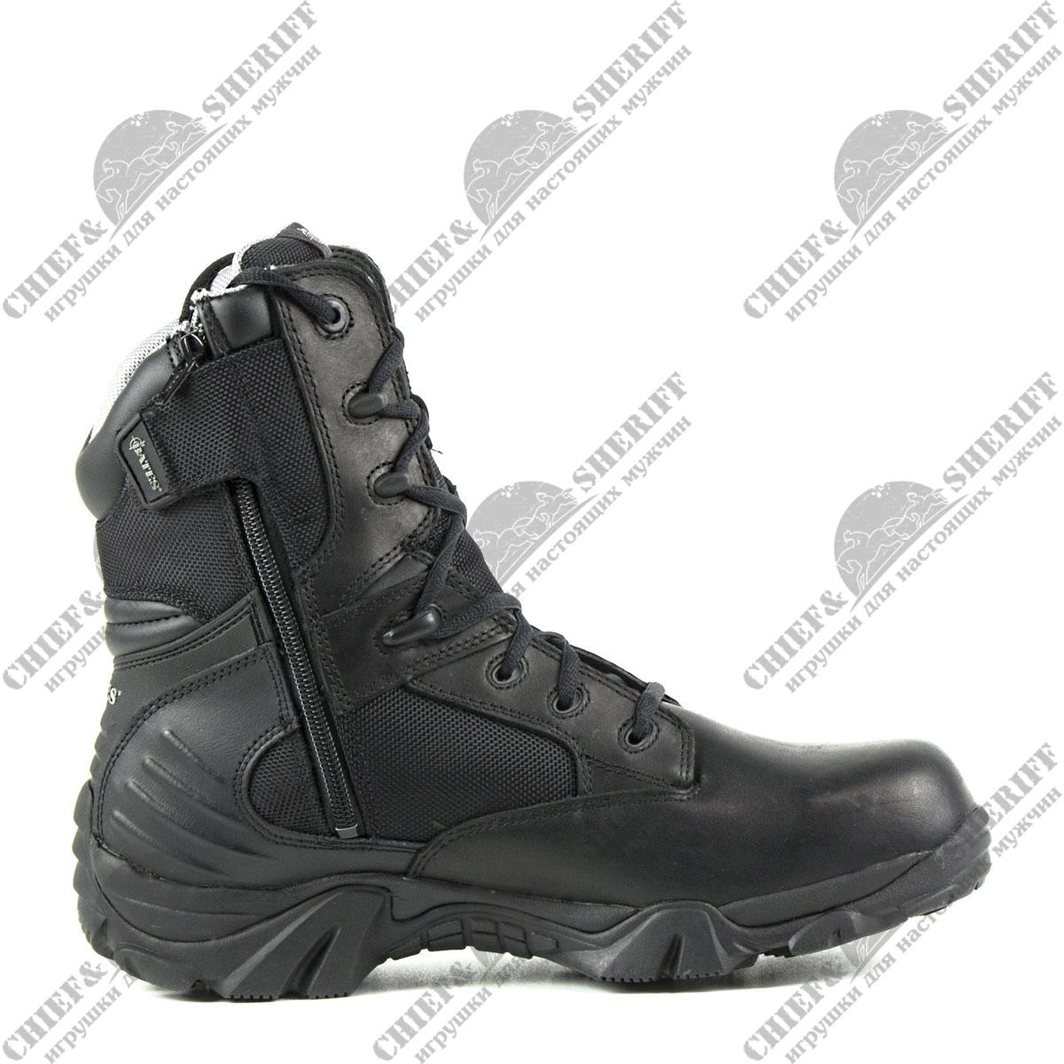e342f7b8 Ботинки Bates (берцы), GX-8 Gore-Tex Sid Zip, black, 2268 цена 6 495 ...