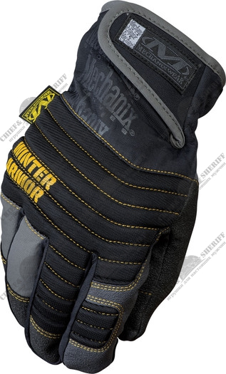 Перчатки универсальные Mechanix Wear Winter Armor 3M Thinsulat Insulation, MCW-WA