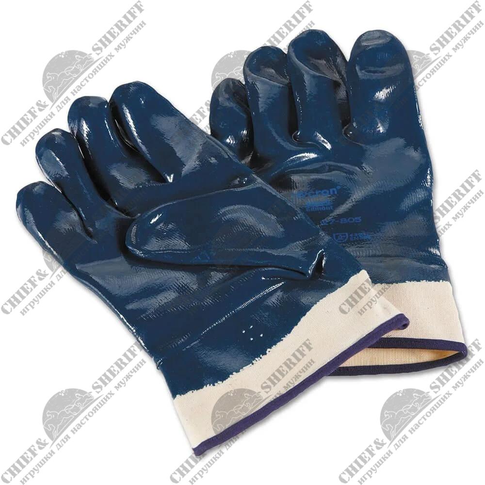 Перчатки рабочие Ansell Hycron 27-805, 1 пара (30 г, размер: 10)